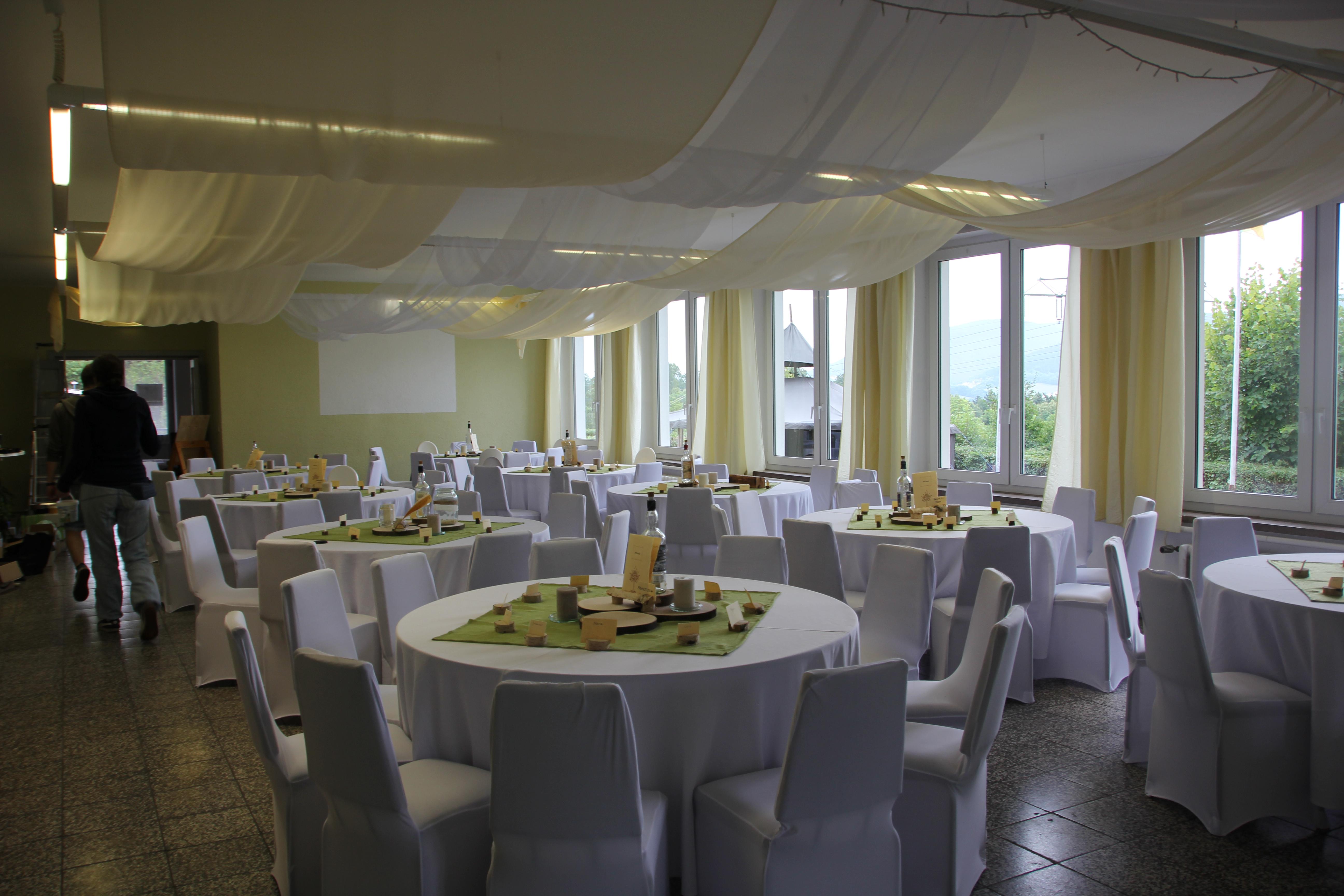 Saal Hochzeit 2019