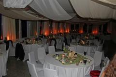 Saal Hochzeit nachts 2019